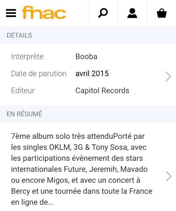 Booba feat Future, Jeremih, Mavado et Migos sur D.U.C !