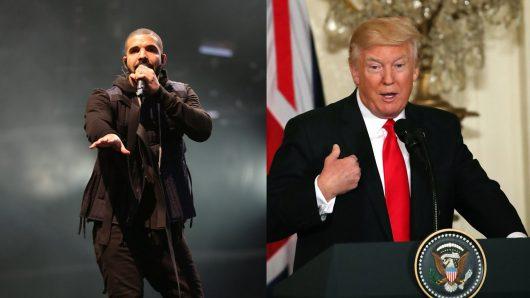 Drake insulte Donald Trump en plein concert ! (Vidéo)