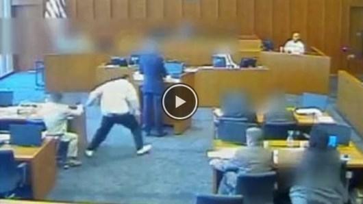 Un membre du gang Crips abattu dans la salle d'audience !