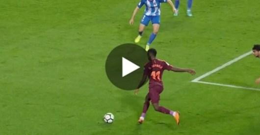 Ousmane Dembélé fait un récital contre Malaga qui prouve sa valeur de 145M€
