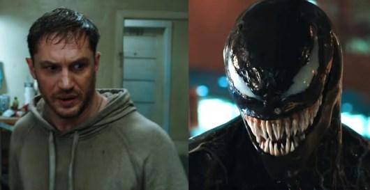 Venom : un Tom Hardy transformé effrayant dans la bande-annonce !