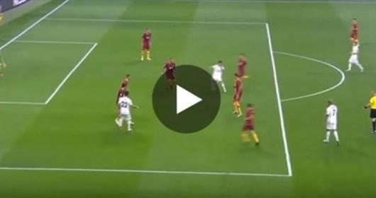 Marco Asensio réalise un geste technique de fou contre l'AS Roma (Vidéo)