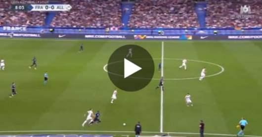 L'accélération fulgurante de Mbappé contre l'Allemagne qui fait rêver tous les fans !