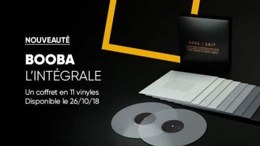 Booba - Intégrale Coffret 11 Vinyles