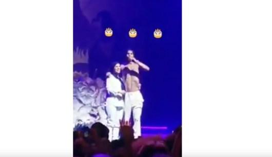 Moha La Squale fait monter sur scène sa mère à l Olympia pour son anniversaire