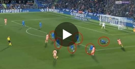 Lionel Messi : sa passe géniale pour éliminer 6 joueurs a rendu dingue les fans !