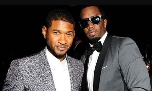 P.Diddy aurait eu une relation avec Usher âgé de 15 ans avant de faire des orgies ensemble