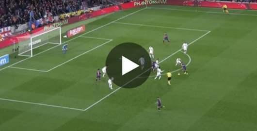Lionel Messi : son superbe doublé face à Valence (Vidéo)