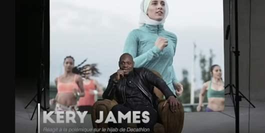 Kery James censuré pour s'être exprimé sur le hijab de Decathlon, il réagit !