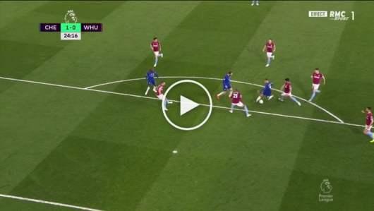 Eden Hazard : son incroyable but après un magnifique slalom contre West Ham !