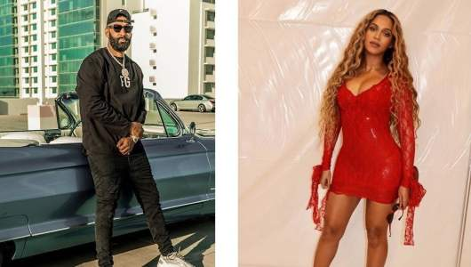 La Fouine: Beyonce taking part in her GnaGnaChallenge? He reacts and sends him a message!