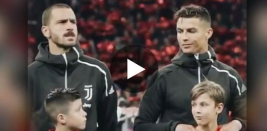 Cristiano Ronaldo : son geste simple envers un escort kids qui montre toute la magie du foot !