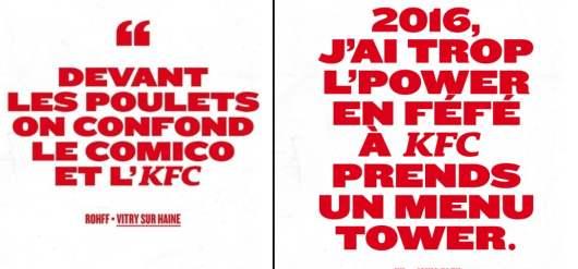 Rohff, Diam's, Orelsan, IAM dans la playlist de KFC : Bucket Bangers !