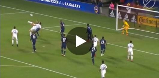 Zlatan Ibrahimovic marque un retourné acrobatique de folie en MLS, un nouveau but monumental !