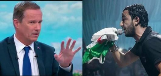 Lacrim clash violemment le président de Debout la France pour ses propos sur les fans de l'Algérie !