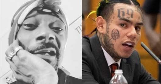 Snoop Dogg s'attaque une nouvelle fois à 6ix9ine et veut qu'il pourrisse derrière les barreaux !
