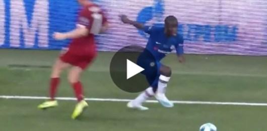 N'Golo Kanté : son petit pont destructeur face à James Milner contre Liverpool !