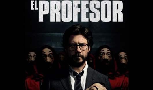 La Casa De Papel : Le Professeur absent de la suite de la série ? Il réagit !