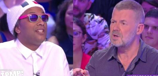 Doc Gynéco face à Eric Naulleau : l'explication musclée après le clash dans TPMP, Cyril Hanouna intervient en direct !