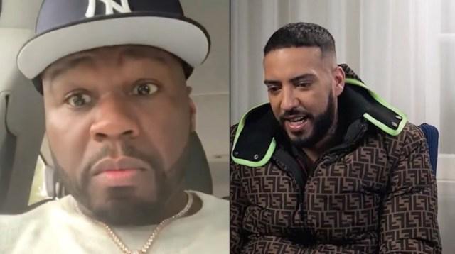 French Montana s'attaque à 50 Cent avec une photo compromettante en compagnie d'Eminem