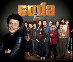 La Fouine à la télé dans la série Soda