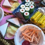An American Girl doll feast