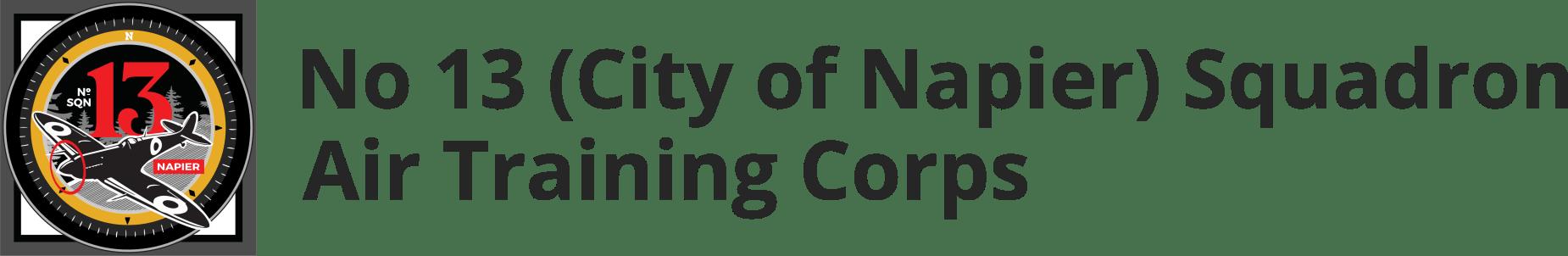 No 13 (City of Napier) Squadron Air Training Corps