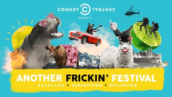 The Another Frickin' Festival Wellington Showcase