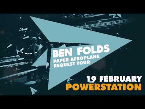 Ben Folds' Paper Aeroplane Request Tour Coming to Auckland