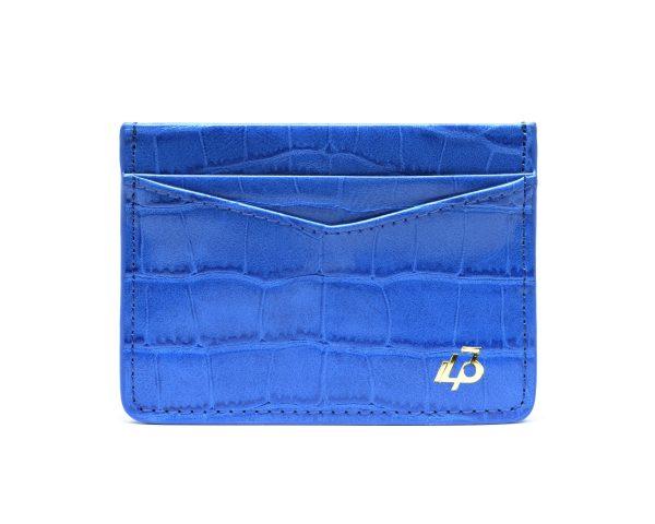 1403 Blue Card holder