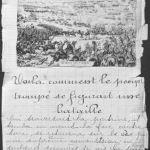 Page du cahier de Louis Barthas