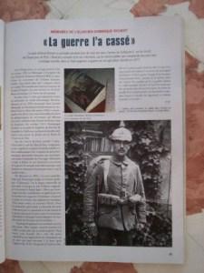 Lectures franco-allemandes sur 14-18 / 2. Dominique Richert : « Cahiers d'un survivant » Publié le 5 mai 2014 par Bernard UMBRECHT «expérience sonore»