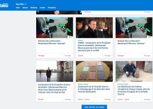 Interview  Le 05 novembre 2018 à France Bleue Alsace