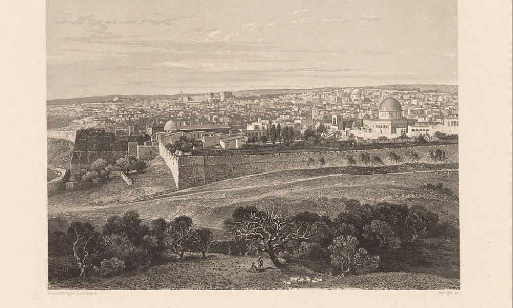 1830 AD to 1850 AD, Psalm 138: Renaissance of Jerusalem, Jewish city