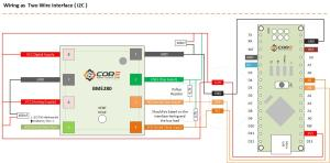 Wiring the BME280 Environmental Sensor Using i2CSPI Interface with Microcontroller   14core