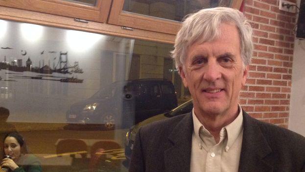 Glenn Gebhard, director de 'La Revolución Olvidada'. (14ymedio)