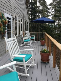 Relax on the deck and breathe salt air