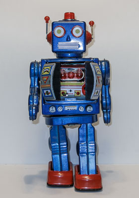 photo of toy robot