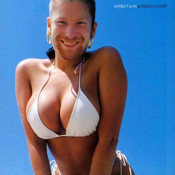 """Fig. 2: På coveret til """"Windowlicker"""" sidder Aphex Twins ansigt i stedet på en frodig kvindekrop."""