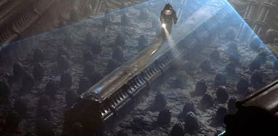 Fig. 4. Et af mange grand vistas fra den første Alien-film. I den nye Blu-ray-udgivelse fremtræder denne supertotal med endnu større visuel fascinationskraft.