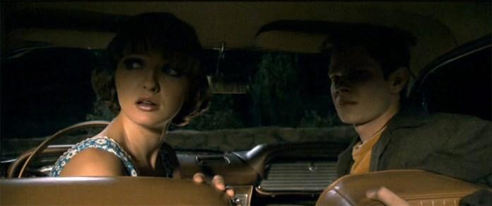 Fig. 8: Her low key i forbindelse med den første mordscene i Zodiac. Paralleller til film noir er oplagte.