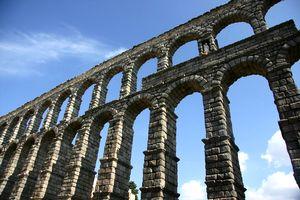 Segovia-the roman Aqueduct-s
