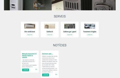 Web de empresa para MaresmeSertec