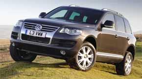 VW Touareg Bluemotion