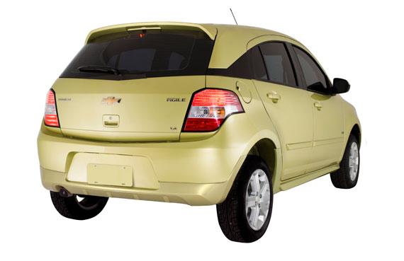 Accesorios para el Chevrolet Agile