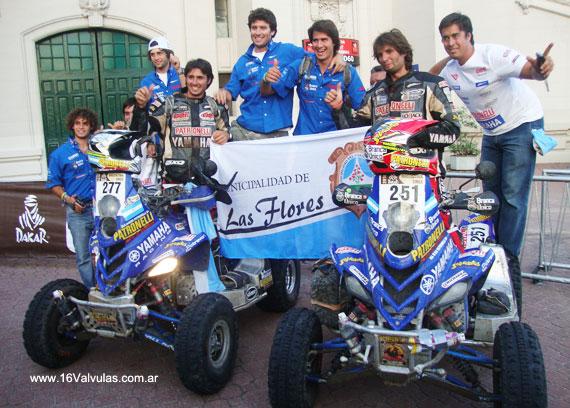 Equipo Yamaha Patronelli Dakar 2010