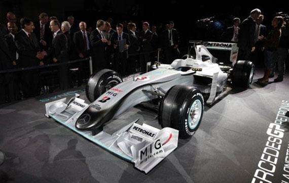 Mercedes GP Formula 1