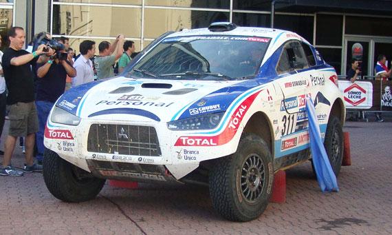 Orly Terranova final Dakar 2010