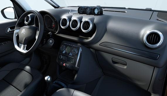 Interior Citroen C3 Aircross