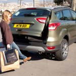 Ford Reveals Hand-Free Tailgate on All-New Kuga
